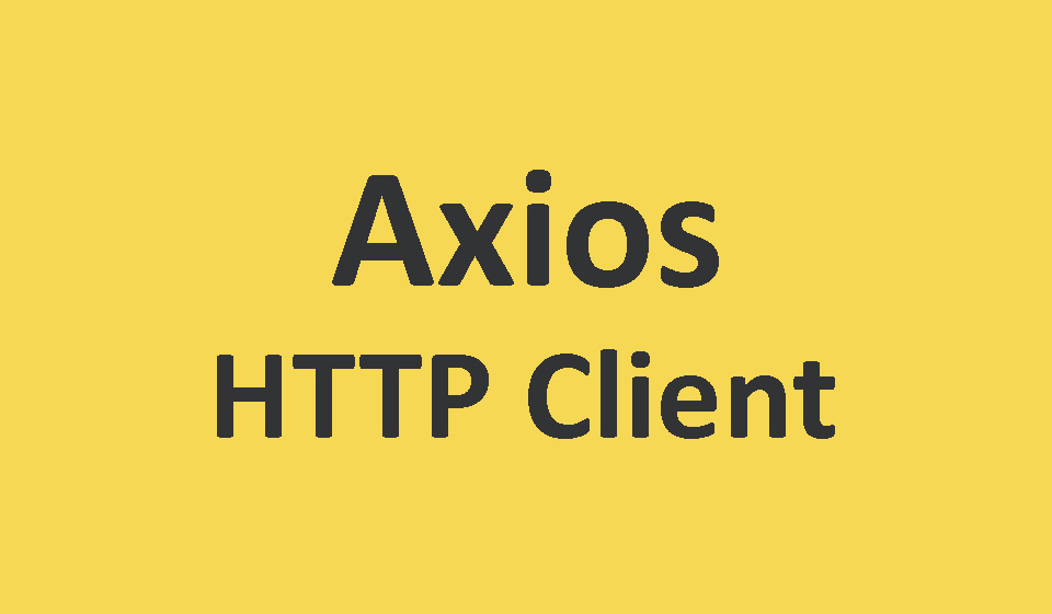 axios-http-client